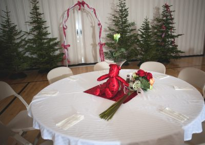Wedding Backdrop&Table